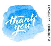 vector handwritten calligraphy... | Shutterstock .eps vector #274954265