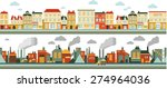 industrial and city factory... | Shutterstock .eps vector #274964036