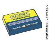 Allergy Medication Box