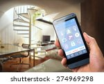 smart house  home automation ... | Shutterstock . vector #274969298