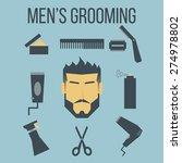 illustration of icon men's...