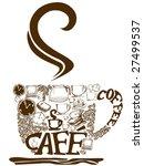 coffee   vector   Shutterstock .eps vector #27499537