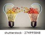 idea exchange concept. ideas... | Shutterstock . vector #274995848