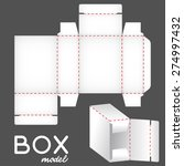 white box model  package... | Shutterstock .eps vector #274997432