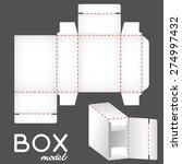 white box model  package... | Shutterstock .eps vector #274997432