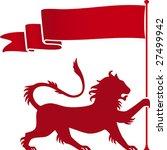 vector illustration of heraldic ... | Shutterstock .eps vector #27499942