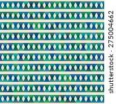 seamless hand drawn geometric... | Shutterstock .eps vector #275004662