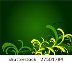 floral background | Shutterstock .eps vector #27501784