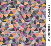 geometric low poly graphic... | Shutterstock .eps vector #275023616