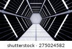 space station hallway tunnel | Shutterstock . vector #275024582