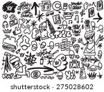 rap music   hip hop   graffiti  ... | Shutterstock .eps vector #275028602