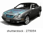 car with visible engine | Shutterstock . vector #275054