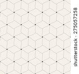 vector seamless pattern. modern ... | Shutterstock .eps vector #275057258
