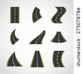 road infographics design ...   Shutterstock .eps vector #275078786