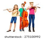 Children Playing On Musical...