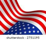 flag the usa | Shutterstock . vector #2751195