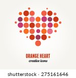 Heart With A Dot Pattern....