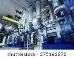 equipment  cables and piping as ... | Shutterstock . vector #275163272