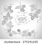 hops vector visual graphic ... | Shutterstock .eps vector #275191235
