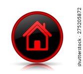 House Icon. Internet Button On...