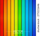 rainbow color  vector colorful... | Shutterstock .eps vector #275221646