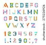 vector alphabet set fun... | Shutterstock .eps vector #275226926