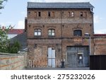 brick building with various... | Shutterstock . vector #275232026