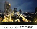 Background Of Jakarta City...