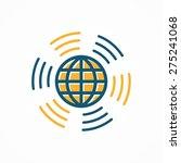 signal wi fi design | Shutterstock .eps vector #275241068