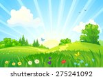 vector illustration of a... | Shutterstock .eps vector #275241092