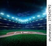 professional baseball grand... | Shutterstock . vector #275243792