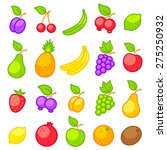 set vector icons of a fresh... | Shutterstock .eps vector #275250932
