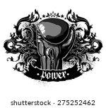 sport. boxing | Shutterstock .eps vector #275252462