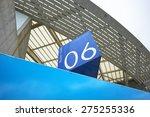 stadium sector number | Shutterstock . vector #275255336