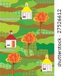 background retro street | Shutterstock .eps vector #27526612