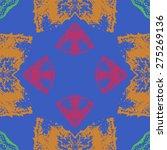 circular  seamless pattern of... | Shutterstock .eps vector #275269136