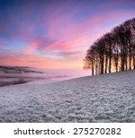 Misty Frosty Sunrise Over A...