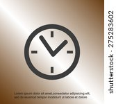 clock vector icon | Shutterstock .eps vector #275283602