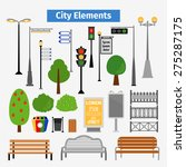 City And Outdoor Elements....