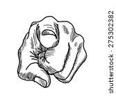 vector illustration retro black ... | Shutterstock .eps vector #275302382