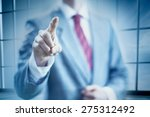 pointing towards camera and...   Shutterstock . vector #275312492