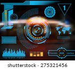 abstract future  concept vector ... | Shutterstock .eps vector #275321456