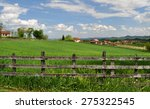 countryside landscape with lush ... | Shutterstock . vector #275322545