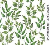 vector seamless watercolor... | Shutterstock .eps vector #275330396