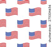 vector image of american flag... | Shutterstock .eps vector #275334656