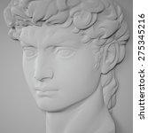 3d Flat Portrait  Classical...