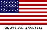 national flag of the united... | Shutterstock . vector #275379332