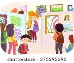 illustration of teenagers... | Shutterstock .eps vector #275392292