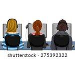 illustration of teenage... | Shutterstock .eps vector #275392322