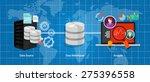 data warehouse business data...   Shutterstock .eps vector #275396558